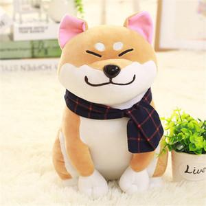 Nueva Kawaii Shiba Inu Almohada Para el hogar salas de estar decoración muñeca de la felpa animal del perrito de perros de peluche lindo Dux piel suave Juguetes Venta caliente