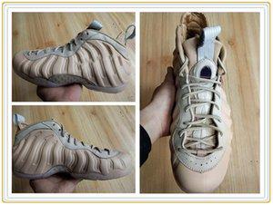 2019 أحذية كرة السلة للرجال بيني هارداواي Foam Pro PRM QS Vachetta Tan Rose Gold-Sail posite حذاء رياضي للرجال مع صندوق