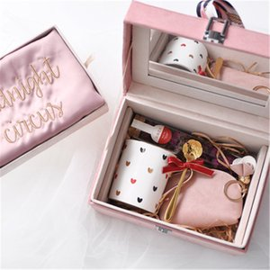 Handmade Makeup Case Gift Wedding Favors for bridesmaids and Guests Gifts for Girlfriends Birthday Present for Young Lady and Ladies