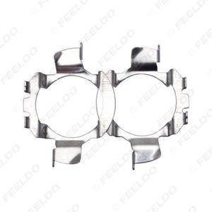 2x Auto-Scheinwerfer-H7 Halogen auf LED Basis Adapter Halter für BMW X5 Audi A4L VW Nissan Qashqai Benz Clip Lampenfassungen # 5536