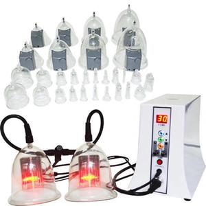 Vácuo Remoção Terapia Slimming Fat Nádegas máquina de elevação - de sucção a vácuo Terapia Copa Máquina de drenagem linfática