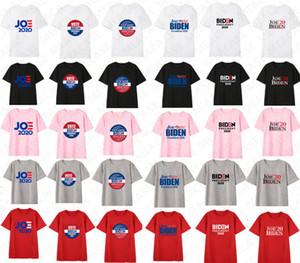 Hombres Mujeres Joe Biden 2020 los EE.UU. Elección Cartas de impresión de camisetas unisex de Verano Primeros Tees adultos diseñador ocasional de manga corta camiseta T-D7209