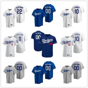 2020 jerseys de béisbol para hombre Hyun-Jin Ryu Jersey Sandy Koufax Chase Utley Yu Darvish Grandal Enrique Hernández gris personalizada cosido