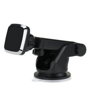 Magnetic Car Phone Holder Universal Dashboard Windshield Suction Cup Car Phone Mount with Adjustable Telescopic Arm for iPhone