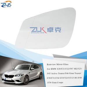 ZUK Vetro specchio esterno Specchio Lens Per BMW 1' F20 / 21 2' F22 / 23/45/46 3' F30 / 31/34 4'F32 / 33/34/36 riscaldata grandangolare