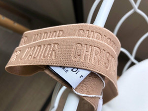 Diseñador superior Cinta elástica para mujeres y hombres cabeza de la manera bufanda cintas para el pelo de señora Girl Retro turbante headwraps regalos, sin caja