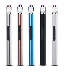 Novo USB Recarregável Arco de Plasma Mais Leve para Cozinha e PARA CHURRASCO Cigarro Fumaça de Tabaco Mais Leve Transporte da gota