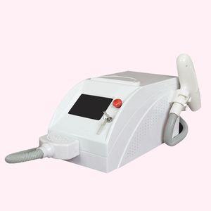 Macchina laser Ndyag Q-commutata a caldo CE 1064/532 nm per vendite portatili per rimozione di tatuaggi e pigmenti di tutti i colori