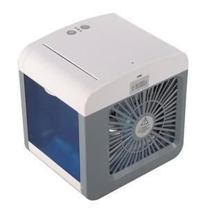Conveniente ventilador del enfriador de aire Acondicionador de aire digital portátil Humidificador Espacio Fácil de enfriar Purifica el ventilador de enfriamiento de aire para el hogar