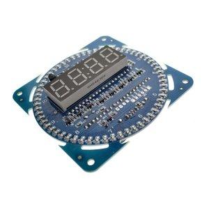 módulo 1PCS LED eletrônico Relógio Digital DS1302 LED rotação da tela 51 SCM Conselho de Aprendizagem