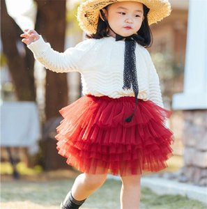 Fashion Baby Girls Gauze Dress Cute Fashion Spring Summer Tutu Mini Skirt Kids Children Princess Dress Dance Lovely Party Skirts 2020 Gifts