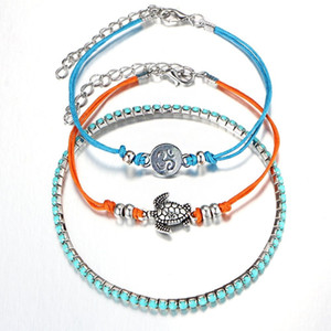 3PCS Multi-layer Rope Bracelets for Women