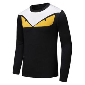 Дизайнерский свитер для мужских пуловеров Роскошная толстовка с капюшоном из кашемира и толстовки с длинными рукавами Марка Горячая верхняя одежда Размер M-3XL Дополнительно