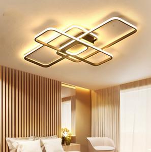 Plafoniere moderne del soggiorno del soffitto LED a forma di Nordic Camera da letto del ristorante di illuminazione nordica a forma di speciale Lampade di tetto di alluminio creative alla moda