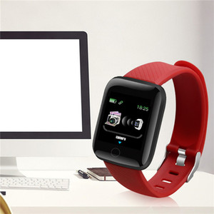 Toptan Ucuz Fiyat Dokunmatik Ekran Spor İzleyici Kimliği 116 Artı Spor Sağlık Bileklik Bluetooth Smart Bilezik Nabız Saatler