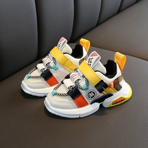 Autumn new arrivals girls sneakers shoes for baby toddler sneakers shoe size 21-30 fashion breathable baby sports shoes
