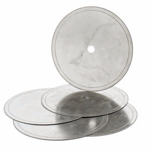 """5pcs 6"""" pulgadas Super-Thin Arbor agujero de 1/2"""" Herramientas de joyería de diamantes lapidario hoja de sierra de corte en rodajas Rim 0.33-0.53mm de piedra de la piedra preciosa"""