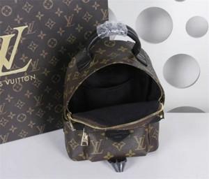 marca bolsa de impressão moda senhoras LOUΙS VUΙTTON mochila Europeia e clássico retro designer de mochila de viagem americano
