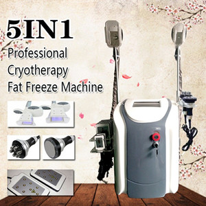 2020 nouvelle Cryolipolysis Fat Gel Minceur machine cryothérapie Cavitation Rf machine de réduction de la graisse Lipo Laser Machine DHL