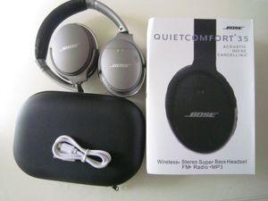 Hot venda Wireless Stereo Bluetooth Headphone Para Q35 sem fio fone de ouvido com Micphone Headset Suporte AUX TF Silencioso 35 shipping