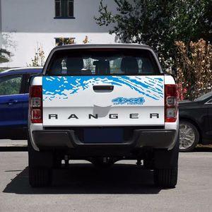 Pikap Kamyon Çıkartmaları Arazi Aracı Yedek Torna Dekorasyon çıkartması için 4x4 Araç Gövde Kuyruk
