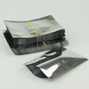 5 * 7cm 100pcs / pack di alluminio stagnola bag-alluminatura sacchetto pianura, termosaldato cioccolato imballaggio tasca, mascherina facciale imballaggio sacchetti