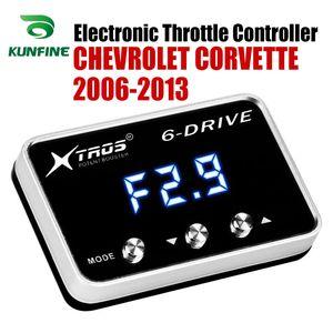 CHEVROLET 코르벳 년 2006 년 2007 년 2008 년 2009 년 2010 튜닝 부품 액세서리를 들어 자동차 전자 스로틀 컨트롤러 레이싱 가속기 유력한 부스터
