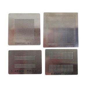 4pcs / lot BGA reballing stencil diretto modello sfera d'acciaio di riscaldamento di saldatura per la stazione del reball PS4 BGA CI e patatine reballing
