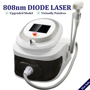808nm Profesional Lazer depilación equipo diodo mashine láser 808 semiconductor de enfriamiento eliminar pelos de forma permanente en el cuerpo cara