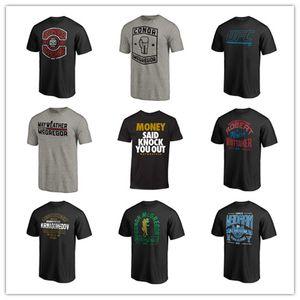 Branded 2019 UFC Kampf Conor McGregor UFC Gorilla The Bear Artist Series Hemden Schwarzes Oberhemd 3D-Druck Markenlogos Sport-T-Shirt