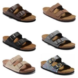 bokon Arizona 2020 805 Mayari rue Boulaq été Hommes Femmes appartements rose pantoufles de sandales en liège unisexe chaussures casual Sandy de Beah imprimer en taille mixte