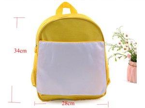 Sublimazione Diy vuoto dei bambini dei bambini di scuola materna del sacchetto di libro Hot Printing Transfer
