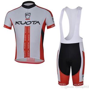 2018 Kuota Cycling Jerseys Shorts con babero Conjunto de bicicleta Ropa deportiva transpirable Ropa de ciclismo Ropa de bicicleta Lycra Summer Mtb Bike F2114