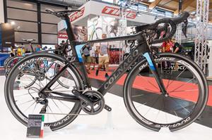Sıcak Satış colnago Konsept Karbon Komple Yol Bisiklet Gümrükleme Ile DIY Bisiklet Ultegra Groupset c50 tekerlek
