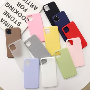 Creative new black matte case for color Candy Apple iPhone 11 case hot sale soft protection