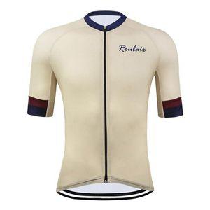 Abbigliamento Uomo Estate Wear Pro Cycling Jersey manica corta rapidi asciugare i vestiti della bicicletta MTB della bici della strada Maglie ciclismo Abbigliamento Top