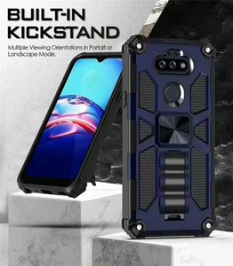 Armadura híbrido Magnetic Car Kickstand telefone capa para LG K31 Aristo 5 Pro Stylo6 K51 LG Tribute Motorola G8 MOTO G8 Poder G Stylus tampa traseira