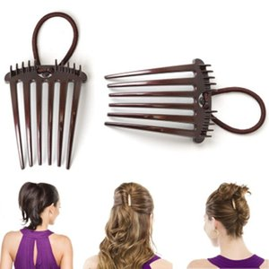 Beauty & Health 1PC New Women Plastic Pad Styling Clip Stick Bun Maker Braid Hair Accessories Girl Magic Hair Braids Styling Tool