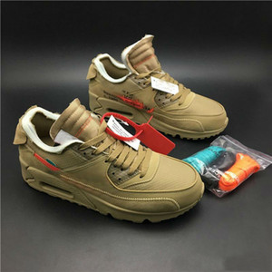 Alta calidad 90 V2 Desert Ore zapatos para correr para hombre zapatillas de deporte deportivas negras zapatillas de deporte para correr al aire libre