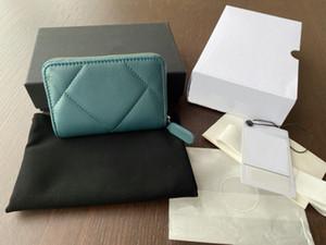 2020 vendas quentes Moda designer bolsas saco de cartão de marca de luxo mudar saco bolsa das mulheres cf transporte livre mini-carteira de couro