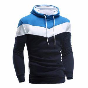Fashion Autumn Spring Men Hoodie Sweatshirt Long Sleeve Tops Shirt Sweatshirts Pullover Sweatshirt Male Coats Outerwear Shirt