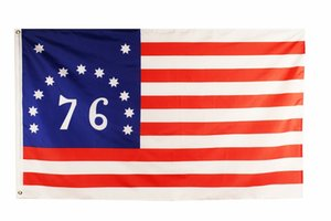 free shipping Wholesale Factory Price 100% polyester 3x5 fts battle war American Revolution Bennington 76 Flag