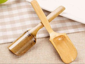 Creative natural environmental protection bamboo tea shovel bamboo tea spoon