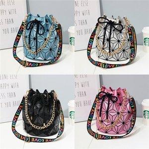 Classic Print Flower Mini Designer Luxury Shoulder Bag Bucket Bag Genuine Leather Barrel Cosmetic Bags Women Designer Crossbody Bag#763