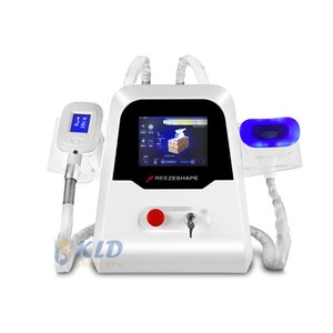 2020 Portable Cryolipolysis Beauty Machine Double Chin Removal Body Contouring Criolipolisis Body Slimming System Handles Working Together