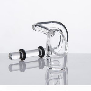 Quartz Swing Quartz Honey Bucket Quartz Banger Nail 2 Rubber Rings Glass water pipe Smoking Accessory