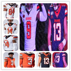 2019 hombres de NCAA Syracuse Orange 9 Don McPherson 44 Ernie Davis Floyd Little Joe Morris 47 88 John Mackey balompié Jersey 4XL personalizada