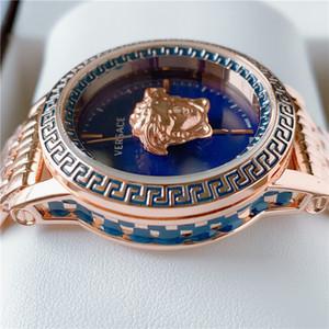En vente spéciale Marque Nouveau Top qualité Montre Femme Mode horloge Casual grand cadran Homme Montres Montres de luxe Lovers montre dame montre
