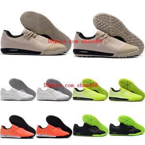 2020 en kaliteli erkek futbol ayakkabıları Phantom VNM Pro IC TF futbol ayakkabıları de kapalı chuteiras ucuz futbol krampon Tacos de futbol yeşil