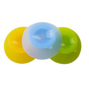 Silikon Kaymaz Bebek Çocuk bulaşığı kase Plakalı Sucker Pedler Placemat Mat Yuvarlak Bebek Bebek Bowl Pad Feeding